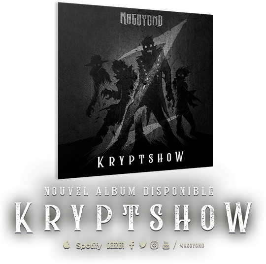 Kryptshow, nouvel album disponible